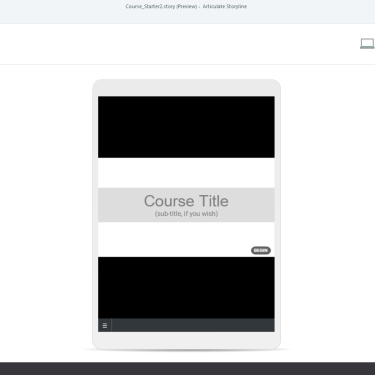 Responsive Preview in Articulate Storyline 3/360